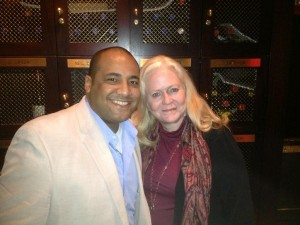 Sharon Lechter & Nick Rodriguez Meeting in New York City