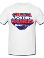 Create for the World t-shirt